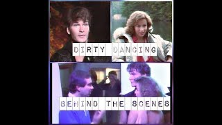 Dirty dancing bts Patrick Swayze 💕 Jennifer Grey
