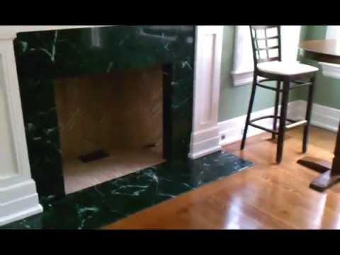 Empress Green Marble Fireplace Youtube