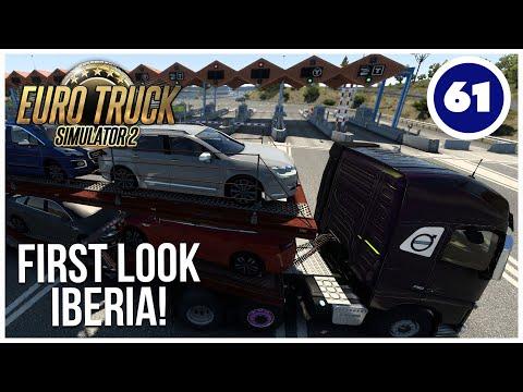 ETS2   First Look Iberia DLC!   Euro Truck Simulator 2 Career   Episode 61  