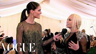 Donatella Versace Goes Punk - Vogue - Met Gala