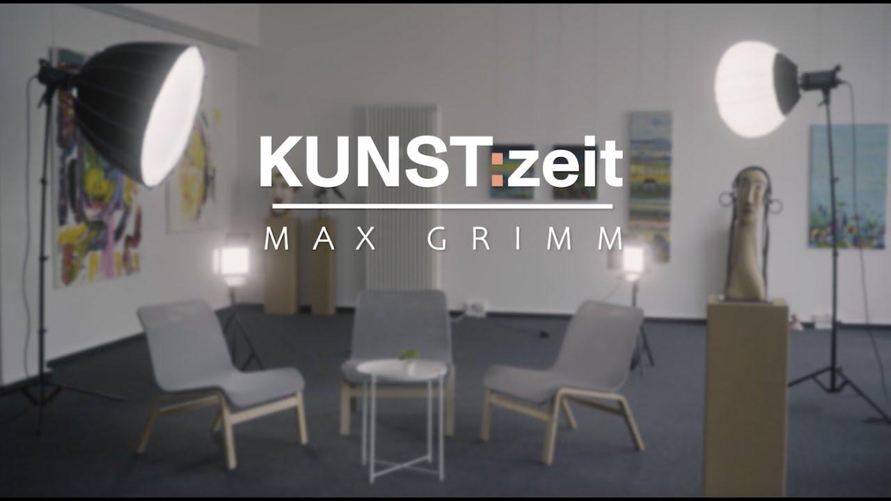 KUNST:zeit mit Max Grimm