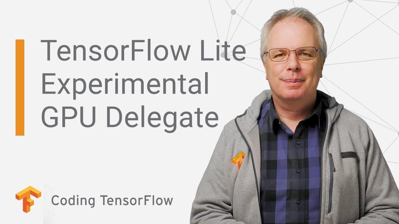 TensorFlow Lite, Experimental GPU Delegate (Coding TensorFlow)