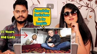 Indian Reaction On Mark Wiens Hunza Valley Food Tour - HEAVEN ON EARTH   Long Life Food