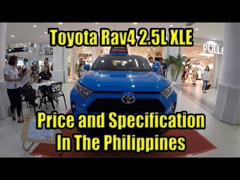 Toyota Rav4 2019 Specification and Price