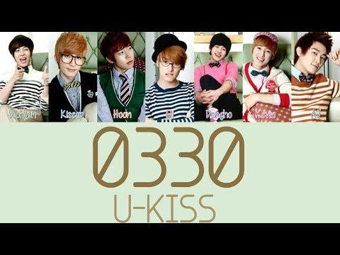 [TBT] U-KISS - 0330 [Hang, Rom & Eng Lyrics]