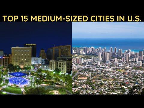 Top 15 Medium-Sized Cities In The U.S.