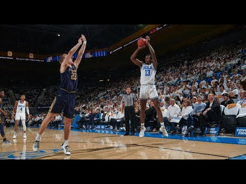 Highlights: UCLA men's basketball tops Notre Dame on Kris Wilkes' unbelievable game-winner