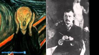 el grito explicación del cuadro de edvard munch
