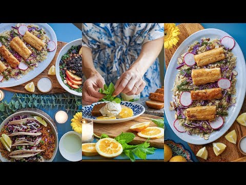 How to Throw a Vegan Dinner Party ???????? ???? RECIPE + DECORATING IDEAS
