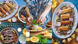 How to Throw a Vegan Dinner Party   RECIPE + DECORATING IDEAS