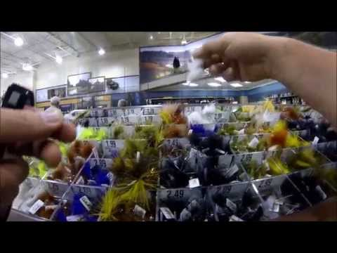 Browsing Cabela's Fly Shop For Pattern Ideas [Fly Fishing POV Porn]