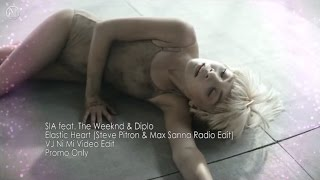 Sia - Elastic Heart (Steve Pitron & Max Sanna Radio Edit) [VJ Ni Mi Video Edit]