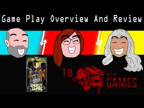 The Manhattan Project: Energy Empire Overview and Review - To Die For Games
