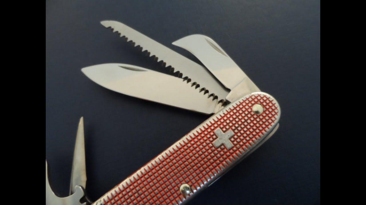 Victorinox Pioneer Harvester Swiss Army Knife Youtube