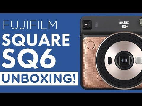 Unboxing: Fujifilm Instax Square SQ6