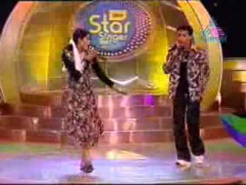 Idea Star Singer 2007 combination Round Amrutha Nithin Dance