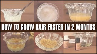 6 Best DIY Hair Masks To GROW HAIR FASTER & LONGER Naturally In 2 Months