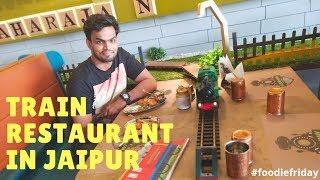 Train restaurant in Jaipur | Vegetrainian Kitchen | #foodiefriday