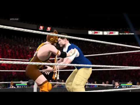 LilMrHardcore Vs Mr Walmart WWE 2K15