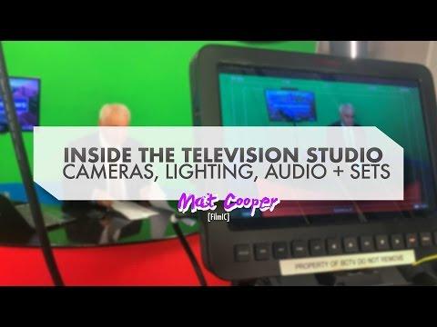 Inside A Television Studio, Sets, Setup And Cameras