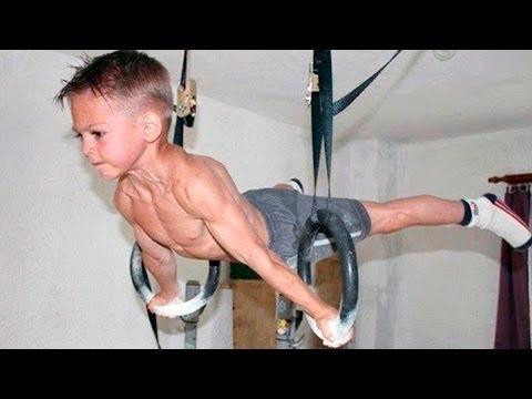 НЕВЕРОЯТНЫЕ дети! Спортивная подборка 2017, трюки 80 уровня - Прикольное видео онлайн