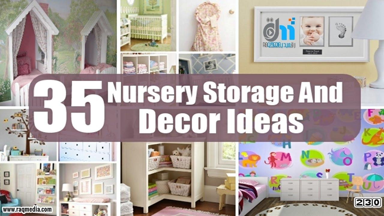 Easy Diy Nursery Storage And Decor