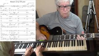"West End Blues - guitar & piano Jazz cover ( West ""King"" Oliver ) Yvan Jacques"