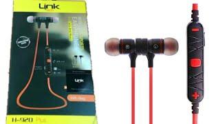 Bluetoothlu Sporcu Kulakl Link Tech Kutu Ac L M