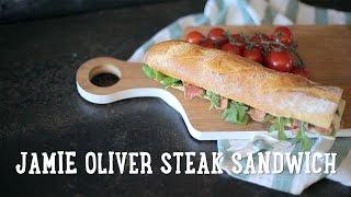 Jamie Oliver steak sandwich [BA Recipes]