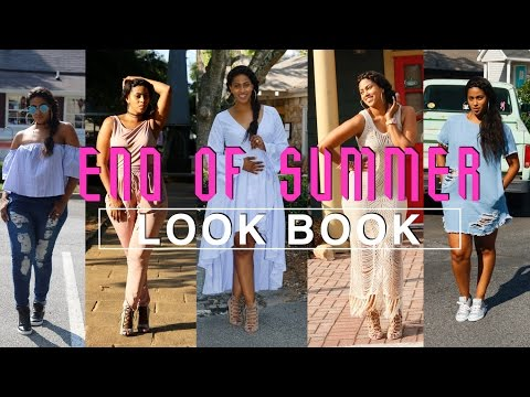 END OF SUMMER LOOK BOOK |BABY BUMP EDITION | FASHION NOVA TRY ON | CHINACANDYCOUTURE