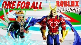 ROBLOX-THE HERO BATTLE Stärke ONE FÜR ALLE-(190K CODE) Boku No Roblox