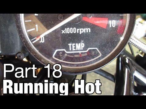 CX500 Running Hot - Moto Fugazi Build Part 18