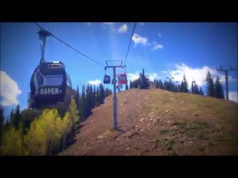 Snowmass Gondola Ride - Full Ride Video - Aspen, Colorado