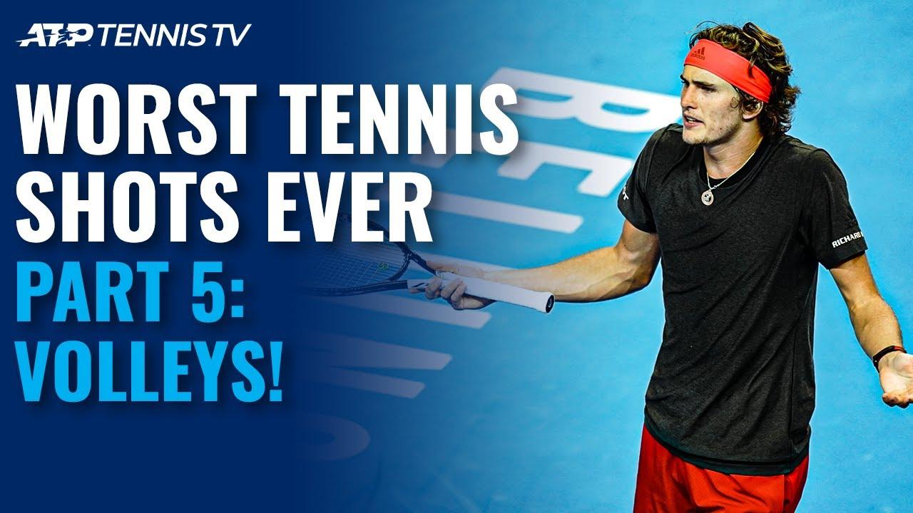 Worst Tennis Shots Ever Part 5: Volleys!