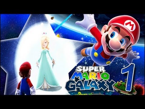 Super Mario Galaxy wii walkthrough guia en Español HD ESPAÑOL Parte 1