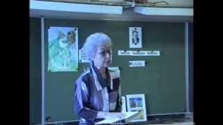 Интегрированный бинарный урок чтения и рисования в 3 классе по теме Весна. Горсталова И.Н. 1992