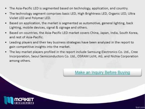 Asia-Pacific LED Market Share,Size,Forecast & Trends 2020