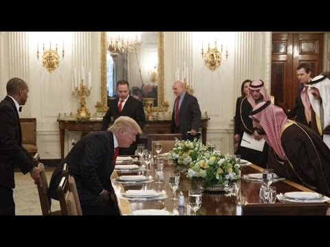 Saudis invest in the US so they can blackmail us – peace activist