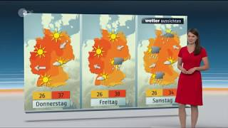 Christa Stipp - Wettervorhersage vom 24. Juli 2018