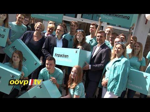 OÖVP.tv Die Oberösterreich-News vom 8.9.2017