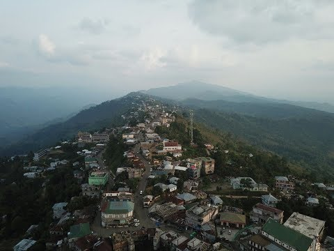 Aerial view of Mamit  : Venghlun aṭang a lan dan ( with a bit explanation)