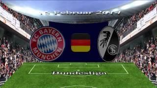 Bayern Munchen v SC Freiburg, 15 Februar 2014, Bundesliga