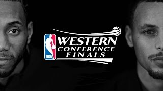 2017 NBA Playoffs WCF Warriors vs Spurs Game 1 NBA on ABC Intro