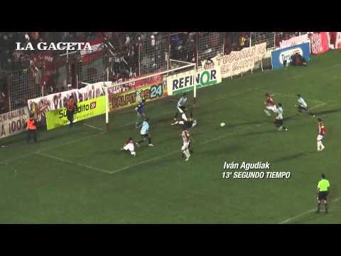 Los goles: San Martín 2, Américo Tesorieri 0.
