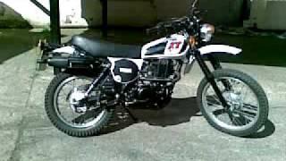 Yamaha XT 500 - Baujahr 1979