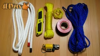 DIY: Prevent Rope From Fraying