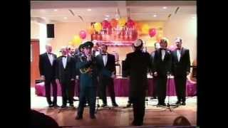 The Moscow Male Jewish Cappella,  concert at the MEOTZ Restaurant, 2004