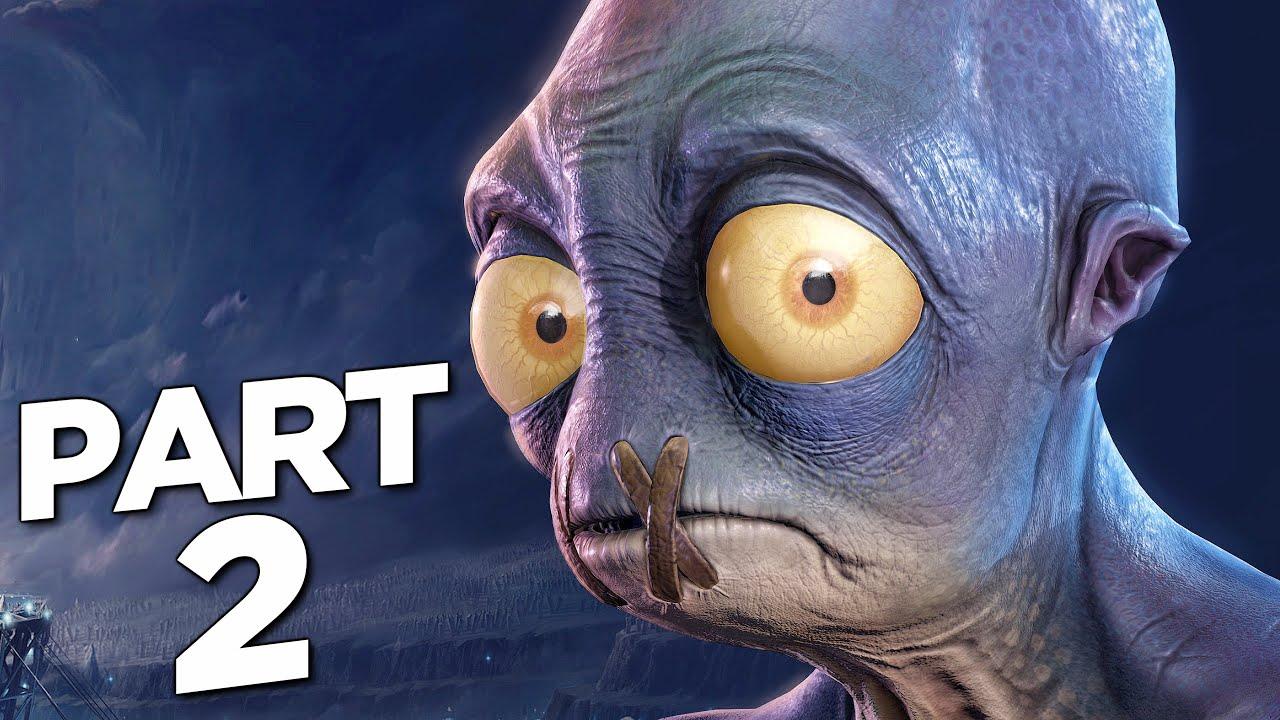 Download ODDWORLD SOULSTORM PS5 Walkthrough Gameplay Part 2 - ABE (PlayStation 5)