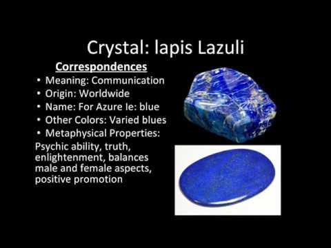 Crystal Series: Lapis Lazuli