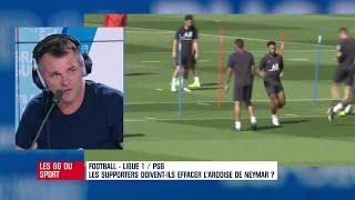 """PSG : """"Neymar est à des années lumières de ce que j'aime dans le football"""" annonce Sagnol"""